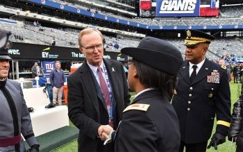 John Mara greeting